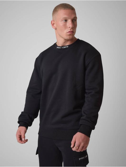 Project X Paris Pullover Gothic print Crew neck schwarz