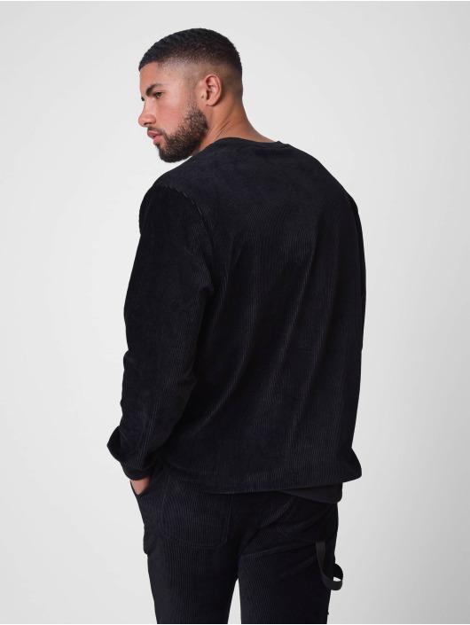 Project X Paris Pullover Loose Corduroy schwarz