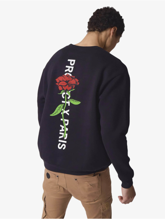 Project X Paris Pullover Rose Back schwarz