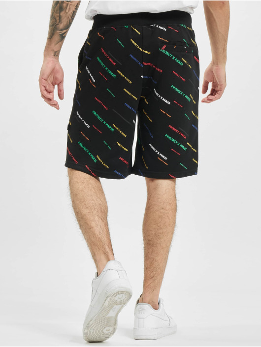 Project X Paris Short Allover Color black