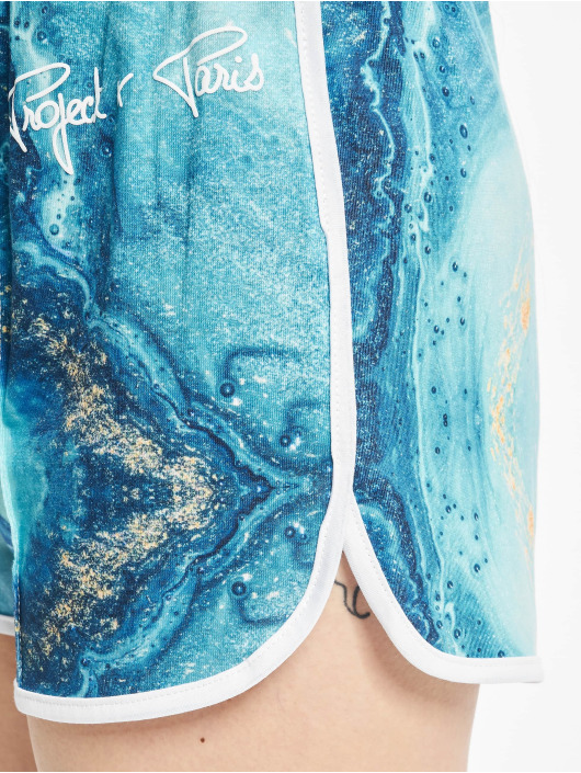 Project X Paris Short Liquid Gradient bleu