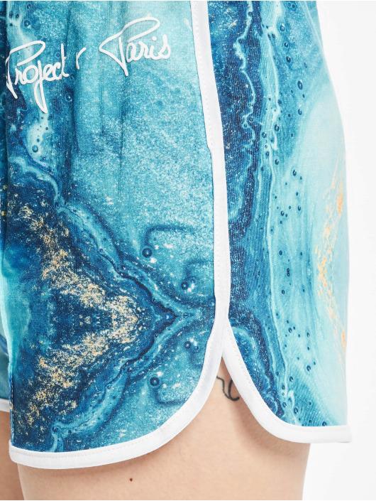Project X Paris Shorts Liquid Gradient blau