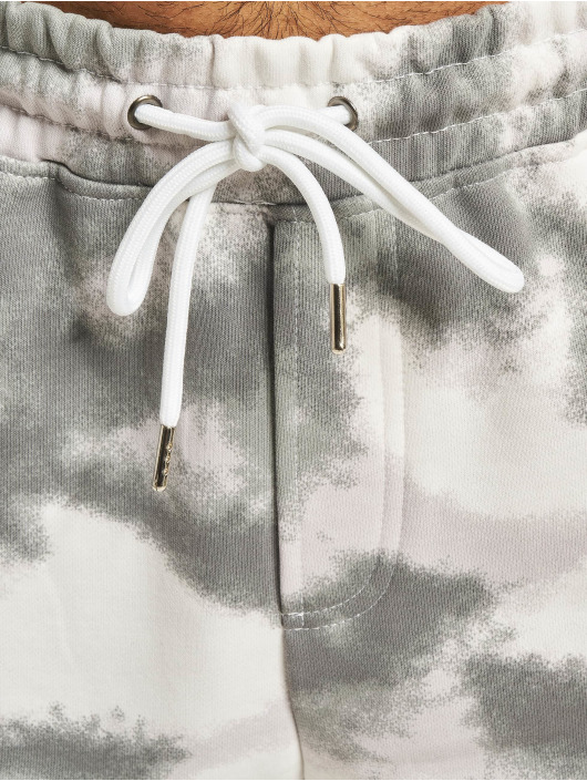 Project X Paris Shorts Abstract Camouflage grau