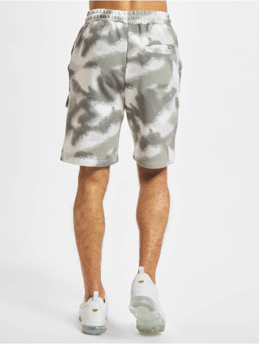 Project X Paris Shorts Abstract Camouflage grigio