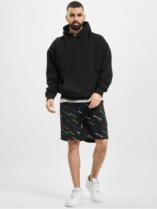 Project X Paris Shorts Allover Color svart