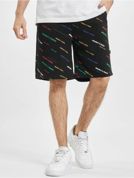 Project X Paris shorts Allover Color zwart