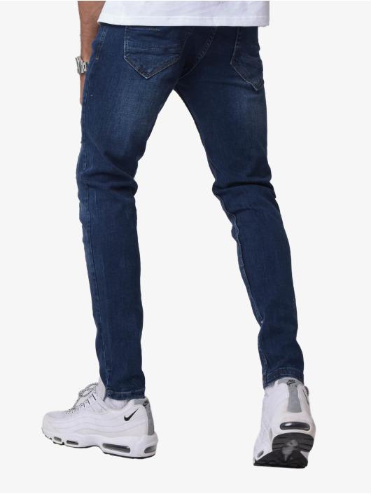Project X Paris Skinny Jeans Torn blau
