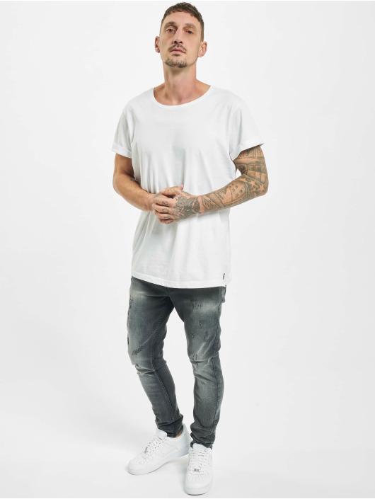 Project X Paris Skinny Jeans Skinny Distressed czarny