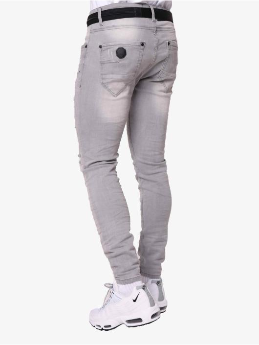 Project X Paris Skinny Jeans Splatter gray