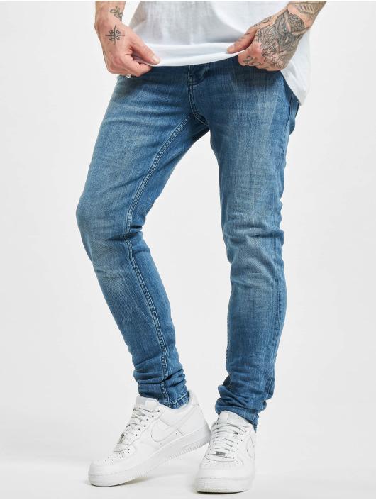 Project X Paris Skinny Jeans Clair modrý