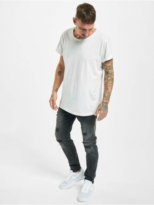 Project X Paris Skinny jeans Regular Jean with Worn Effect svart