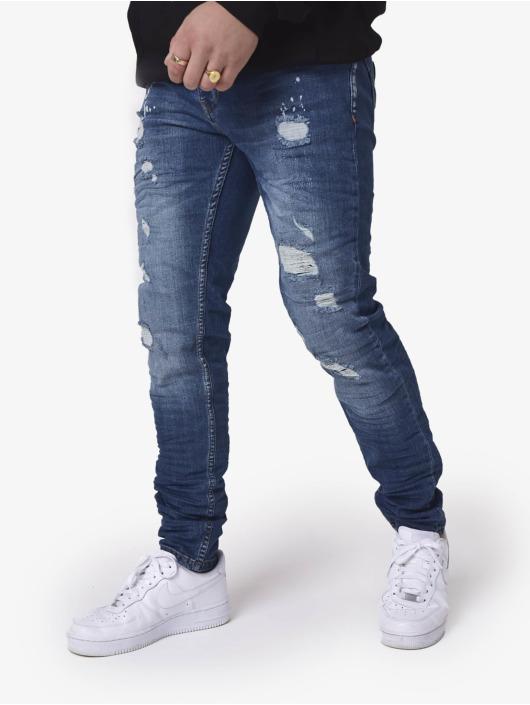 Project X Paris Slim Fit Jeans Slim blauw