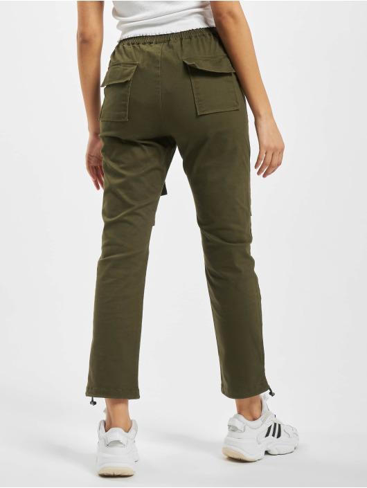Project X Paris Spodnie Chino/Cargo Pockets and Strap detail khaki