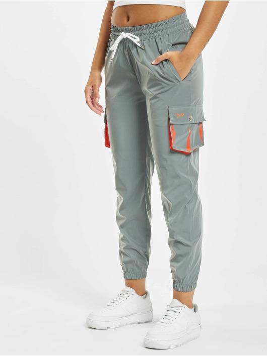Project X Paris Spodnie Chino/Cargo Oversize Pockets srebrny