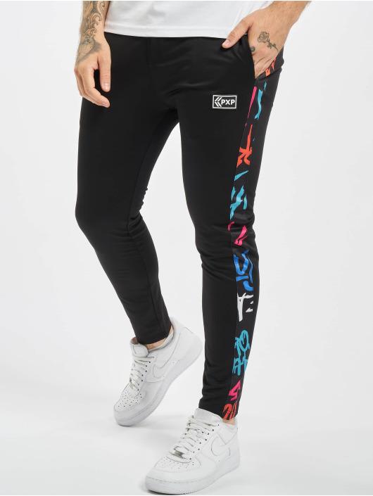 Project X Paris Spodnie do joggingu Graffiti czarny