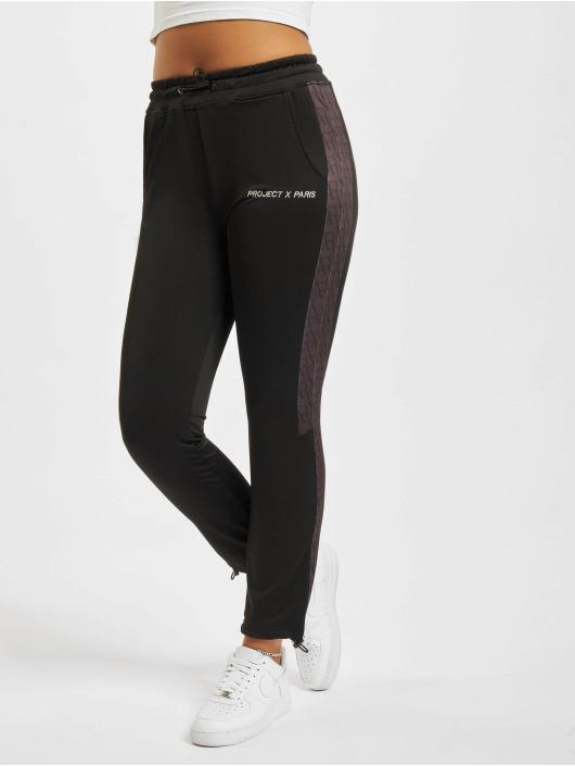Project X Paris Spodnie do joggingu PXP all-over Print czarny