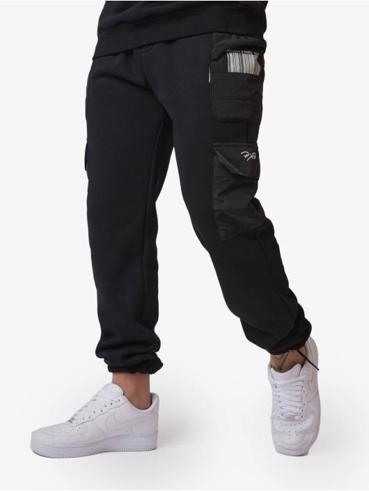 Project X Paris Spodnie do joggingu Quilted czarny