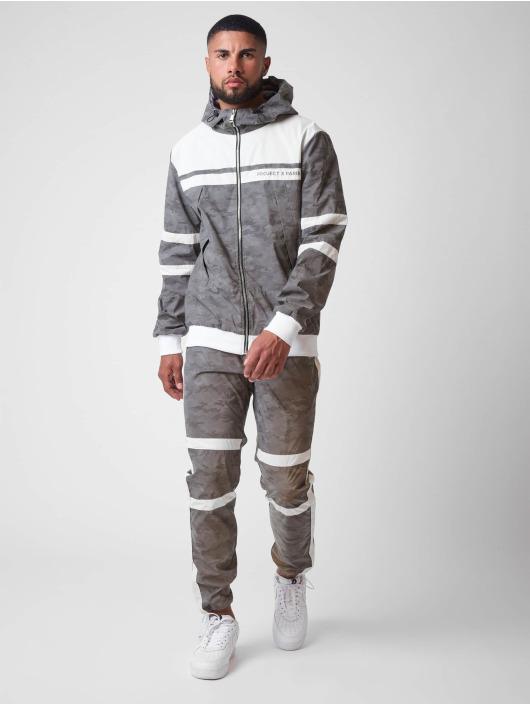 Project X Paris Spodnie do joggingu CAMO REFLECT moro