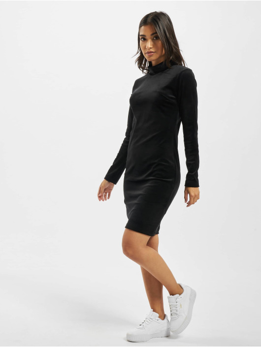 Project X Paris Sukienki Long sleeve turtleneck czarny