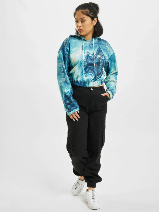 Project X Paris Sweat capuche Liquid Gradient bleu