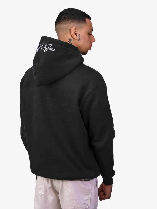Project X Paris Sweat capuche Logo Embroidery noir