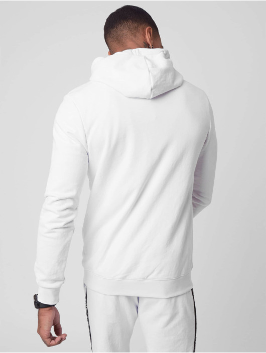 Project X Paris Sweat capuche zippé Basic Logo blanc