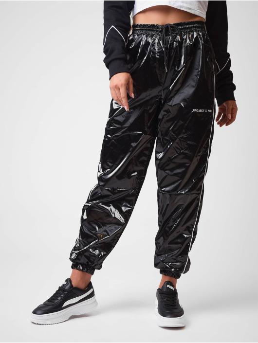Project X Paris Sweat Pant Vinyl effect black