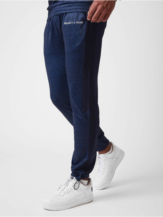 Project X Paris Sweat Pant Monogram print blue
