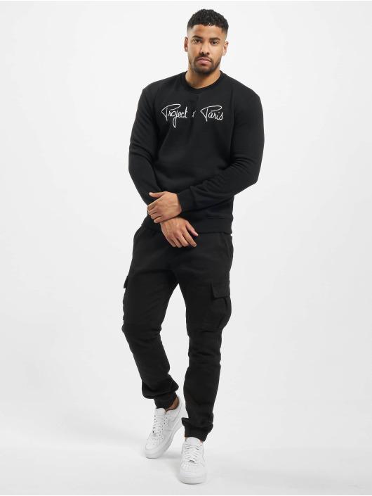 Project X Paris Swetry Chest Logo czarny