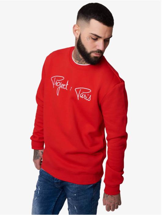 Project X Paris Swetry Chest Logo czerwony