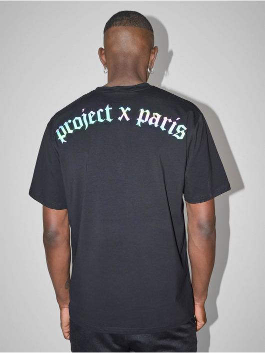 Project X Paris T-paidat Reflective Logo Basic musta