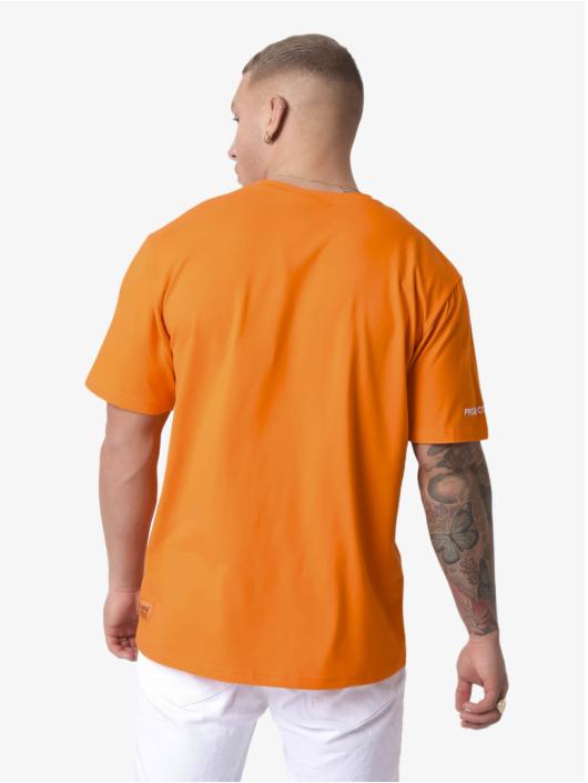 Project X Paris T-shirt Sleeve Logo arancio