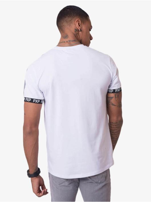 Project X Paris T-shirt Reflective Track Shoulder bianco