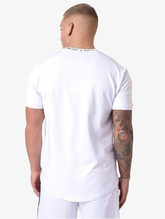 Project X Paris T-shirt Crew Neck Logo bianco