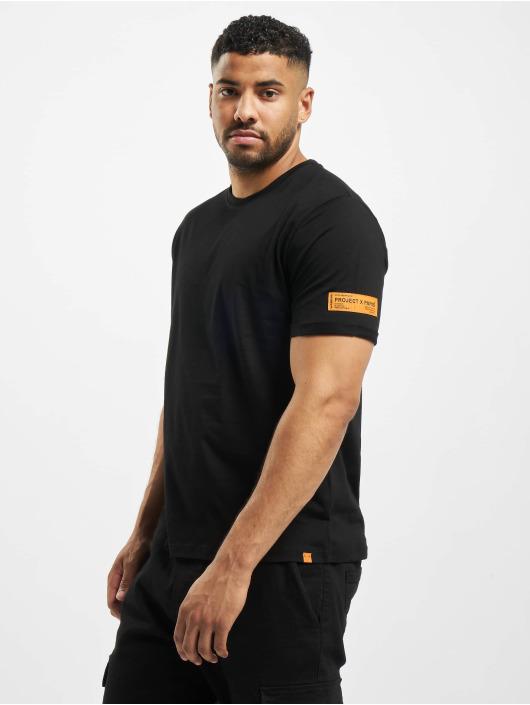 Project X Paris T-Shirt Orange Label Basic black