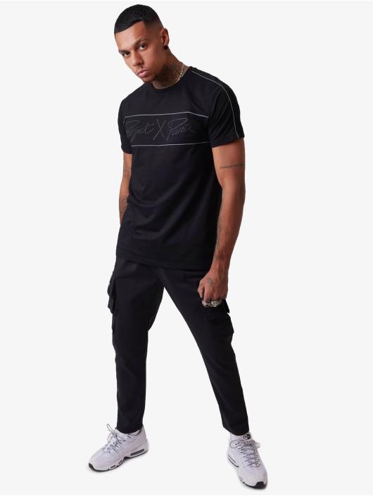 Project X Paris T-Shirt Reflect Piping black