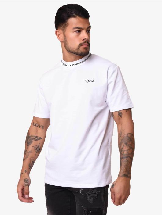 Project X Paris T-Shirt Contrast Logo blanc