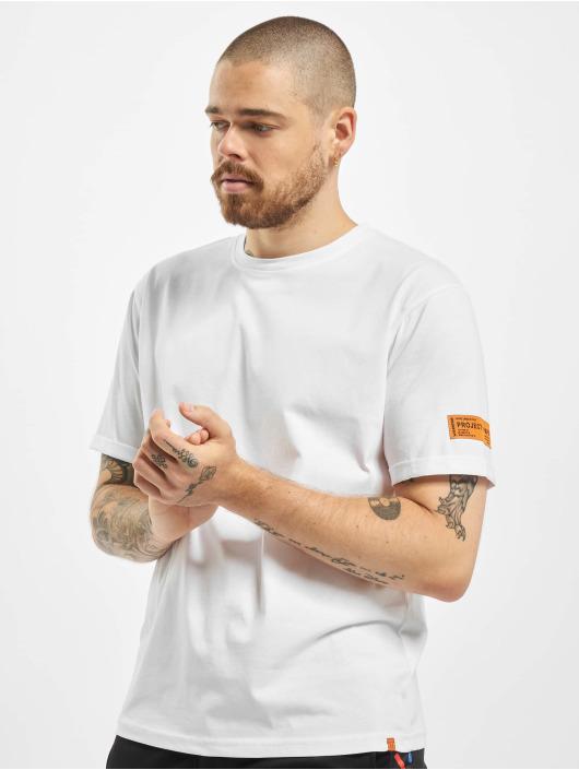 Project X Paris T-Shirt Orange Label Basic blanc