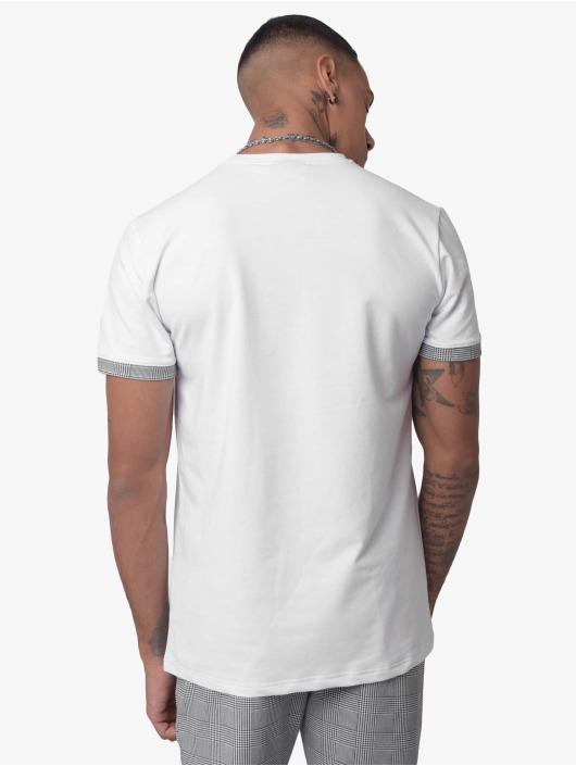 Project X Paris T-Shirt Checked Panel blanc