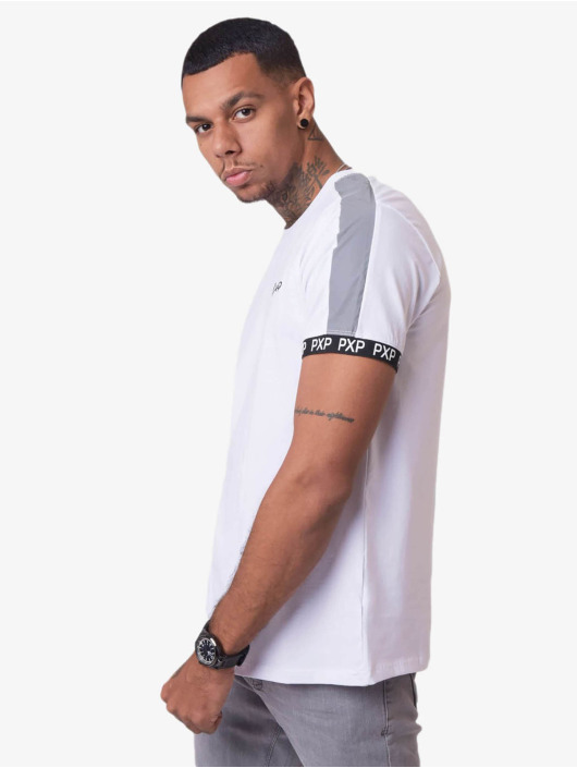 Project X Paris T-Shirt Reflective Track Shoulder blanc