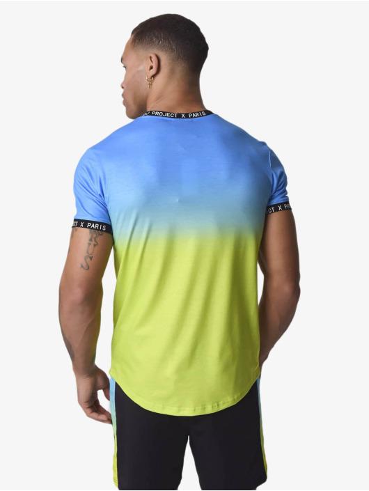 Project X Paris t-shirt Gradient blauw