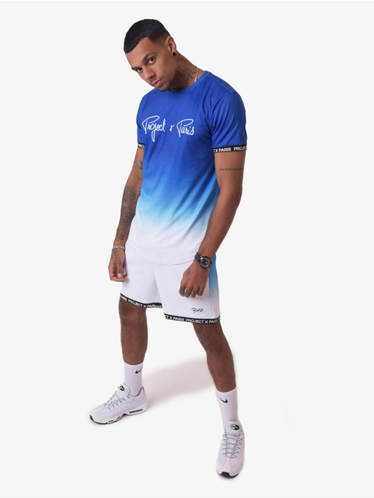 Project X Paris T-Shirt Gradient Summer blue
