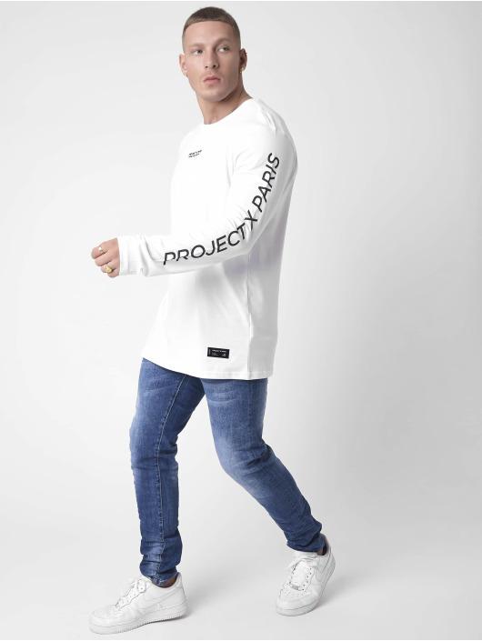 Project X Paris T-Shirt manches longues Basic blanc