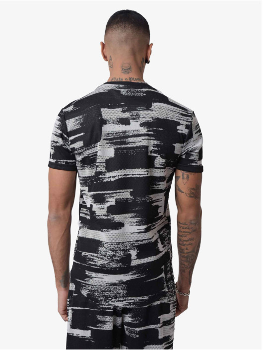 Project X Paris T-shirt Ink Brush Printed nero