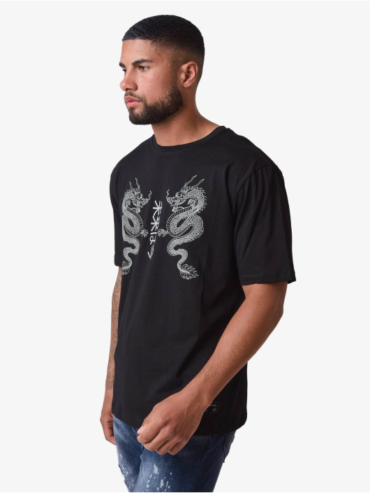 Project X Paris T-shirt Dragons Design nero