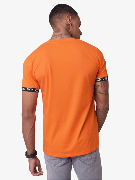 Project X Paris T-Shirt Reflective Track Shoulder orange