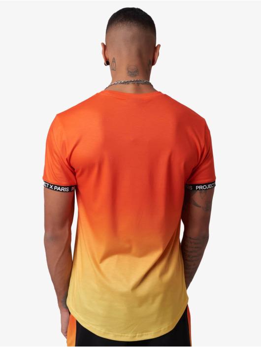 Project X Paris t-shirt Gradient Summer oranje