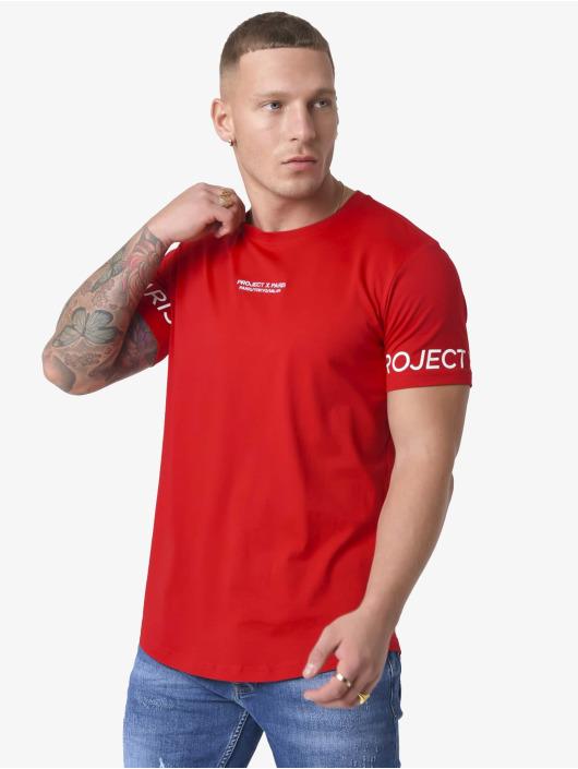 Project X Paris T-shirt Logo Sleeve röd