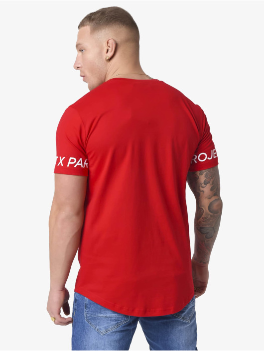 Project X Paris T-shirt Logo Sleeve rosso