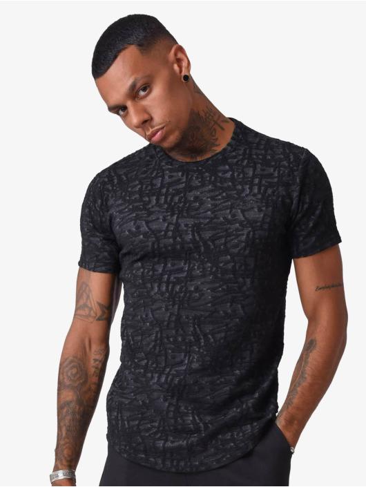 Project X Paris T-Shirt Pattern schwarz